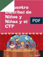 Encuentro Distrital de niños, niñas y adolescentes con el Consejo Territorial