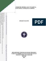 Analisa Vitamin B HPLC
