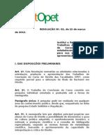 RegimentoTCC-2012