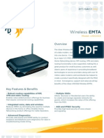 Hoja de Caracteristicas Cable Modem Ubee U10C022 (Ingles)