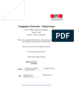 Comp Net Exam Fall 08