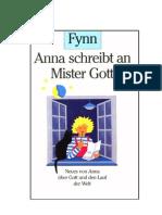 Fynn - Anna schreibt an Mr. Gott
