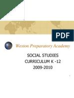 weston ss curriculum update 2009 101
