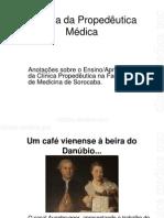 História da Propedêutica Médica puc