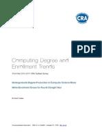 CS Degree and Enrollment Trends 2010-11