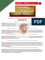 Puntos Sobresalientes - Ezequiel 21 a 23