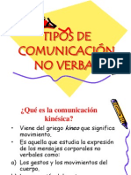 1° comunicacion no verbal