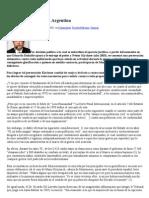 Los Presos políticos en Argentina