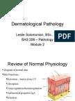 7203169 Dermatology Class Notes