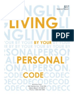 Living by Your Personal Code