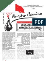Revista Nuestro Camino Abril 2012