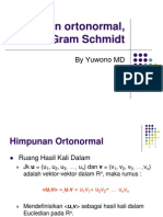 03. Matrik Dan Transformasi Linear Ortonormal Dan Gram Schmidt