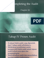 Completing the Audit Chapter24