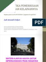 HOGSI USG Pra PIT V. Sistematika Pemeriksaan Kepala dan Kelainannya, JJE 20120426