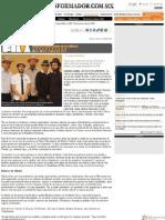 Paté de Fuá germina producto discográfico (16.06.2011) Guadalajara Jalisco - Alejandro Oliveros - El Informador