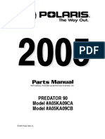 Polaris Predator Parts Manual