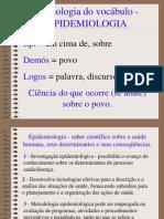 Epidemiologia - Conceitos Basicos