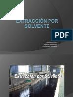 Parte i Extracci n Por Solvente 2011