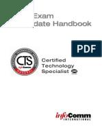 Cert Handbook CTS