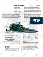 Data Sheet Eldar Void Spinner
