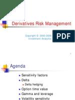 Derivatives Risk Management