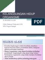 KELANGSUNGAN HIDUP ORGANISME 2
