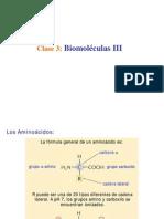 Biomoleculas III Clase 3
