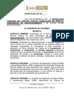 Proyecto de Regulaciòn Tarifaria del Servicio de Aseo. Vs Final. Marzo 22