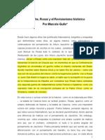 Jauretche, Rosas y El Revisionismo Histrico