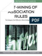 Post-Mining of Association Rules