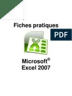 Fiches Pratique Excel 2007