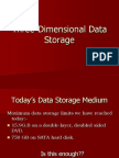 Three-Dimensional Data Storage