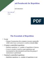 Flow Chart and Psuedo Code II