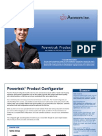 Powersphere Product Configurator