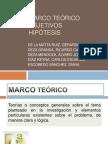 2-Marco Teórico Objetivos Hipótesis