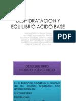 Deshidratacion y Equilibrio Acido Base