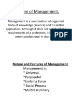 4.. Nature of Management 09--09-09