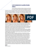 Generalización de la imitación de modelos faciales en niños con autismo