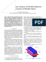 2006 Analysis of Flexible Induction Heating System of Metallic Sheets T.tudorache P.deaconescu