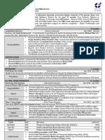 Resume S.arvindkumar 2009 IIM Indore