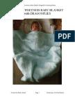 Love's Sweetness Baby Blanket Dragonflies Hand Knitting Pattern PDF (1)