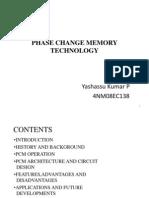 Phase Change Memory Technology