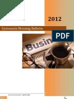 Systematix Morning Bulletin - April 12,2012