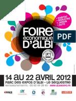 Programme Foire Albi 2012