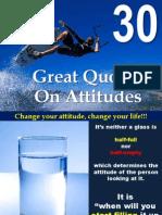 30 Great Attitude Quotes