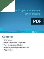 More Target Independent Bitcode