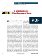 The Unreasonable Effectiveness of Data by Halevy, Norvig