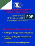 Waste Management For ships