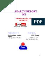 Ritij Vikram Airtel Project