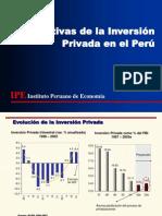 1. Perspectivas de la Inversión Privada en el Perú[1]